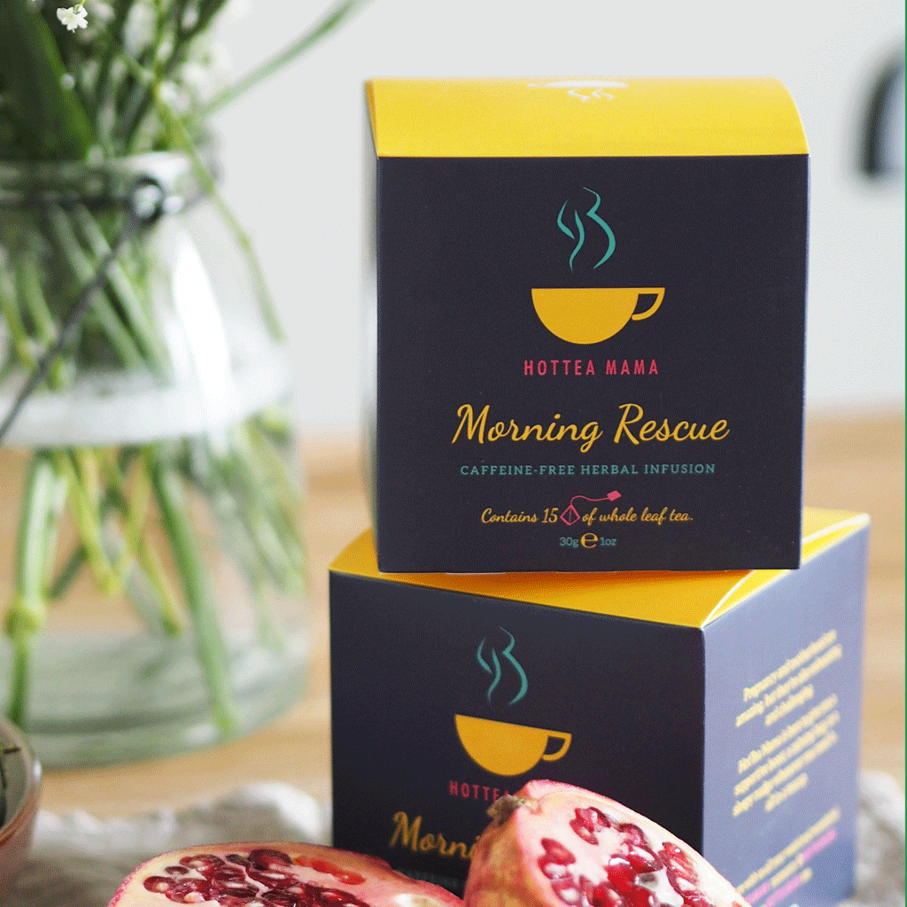 HotTea Mama Brand & Packaging