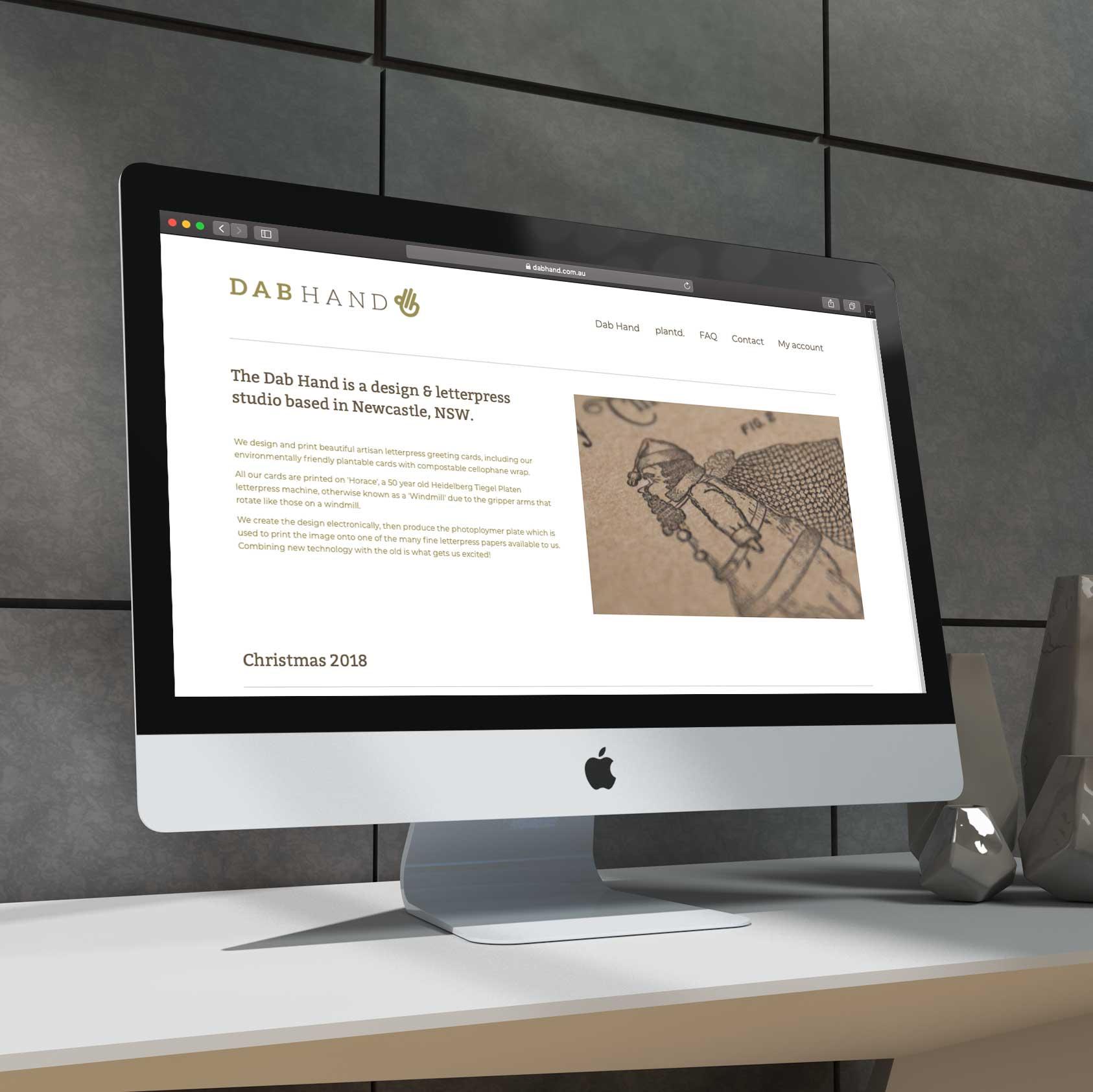 dabhand-Homepage